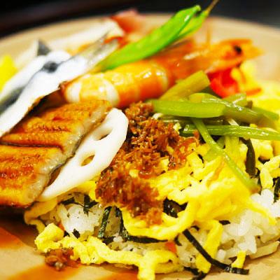 岡山バラ寿司