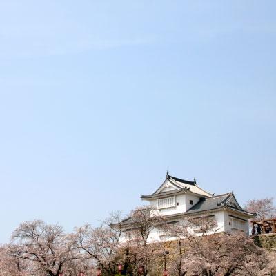 津山城 鶴山公園