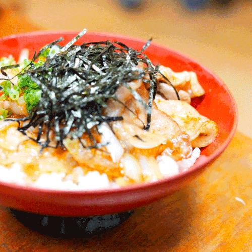 ピオニーポーク丼