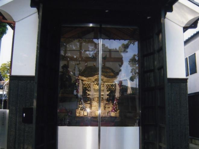 徳守神社神輿庫