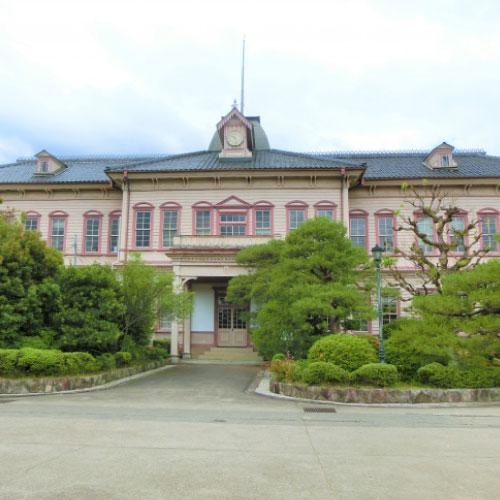 岡山県立津山高等学校本館