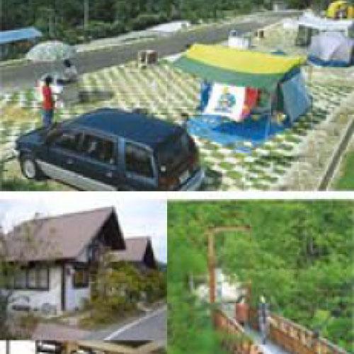 グリーンミュージアム神郷 高瀬湖畔オートキャンプ場