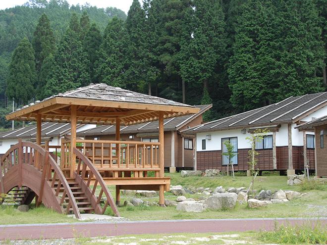 阿波森林公園(渓流茶屋・渓流釣り場)