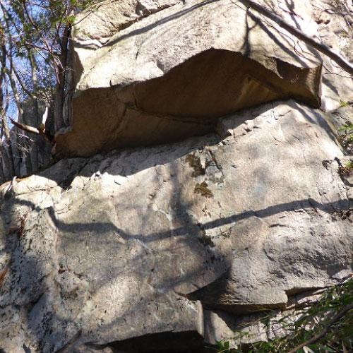 大ヶ山奇岩