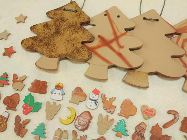 備前焼で作るクリスマスツリー